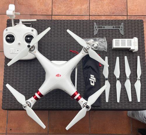 Dron DJI phantom 3 standard dużo dodatków