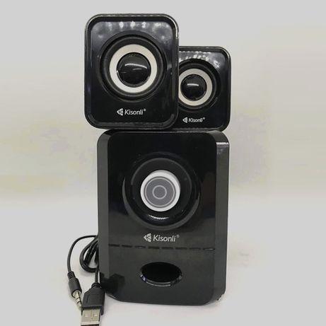 Мощные Колонки – USB Сабвуфер Kisonli для Компьютера Ноутбука