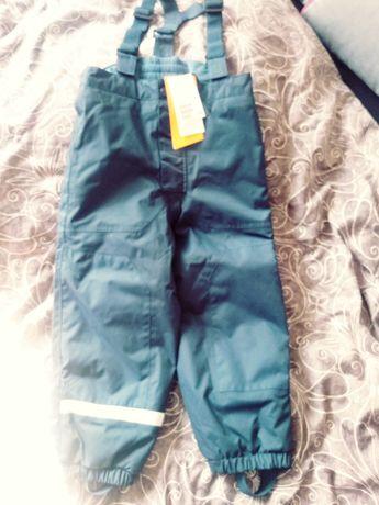 Spodnie narciarskie / na śnieg 110 cm H&M Nowe