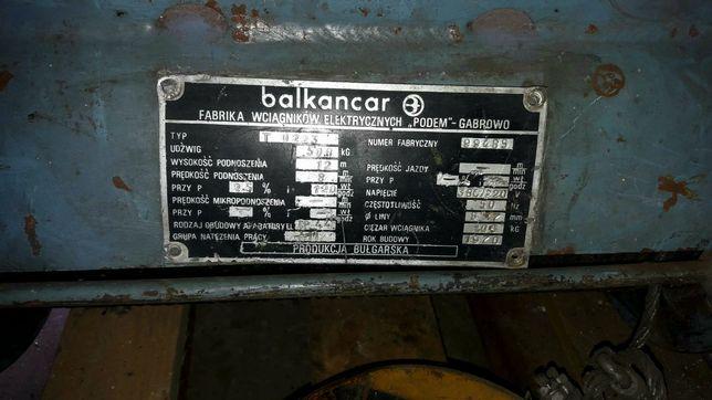 Wciągarka Balkancar