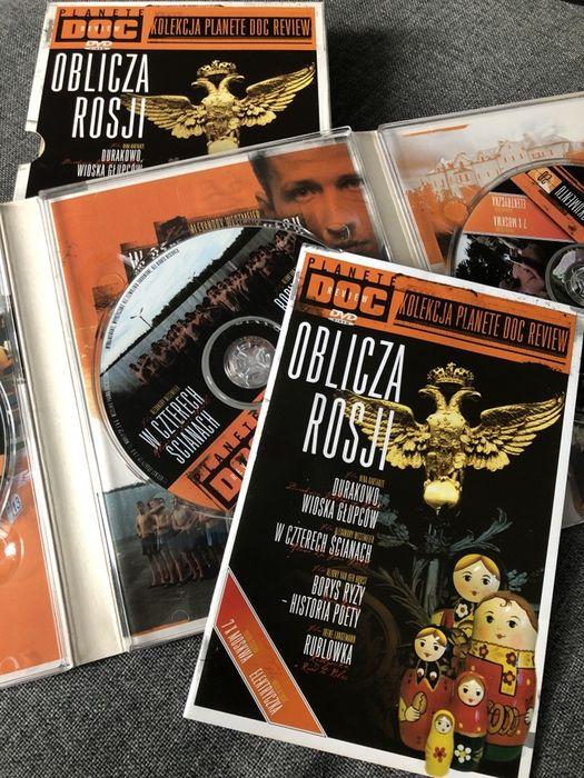 Zestaw DVD Oblicza Rosji Planete Doc Review 7 filmow Tarnów - image 1