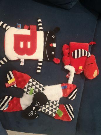 Zabawki kontrastowe mr b lulalove moms