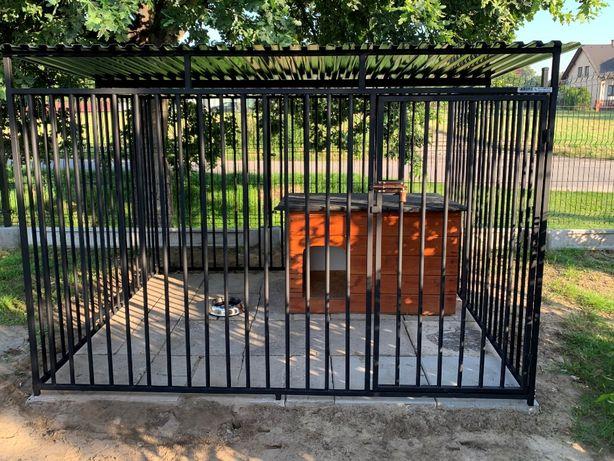 Kojec dla psa Boks Klatka buda 2x2m
