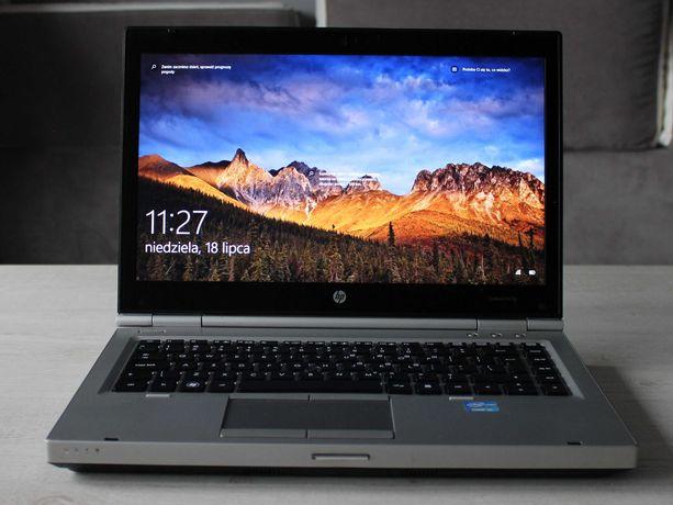 Laptop HP 8460p i3 Nowy Dysk SSD 240GB 8GB HD+ Nowa Bateria