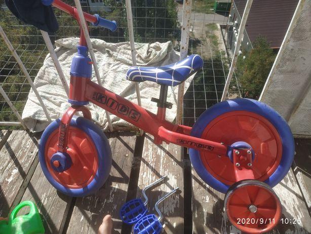 Велосипед - беговел трансформер