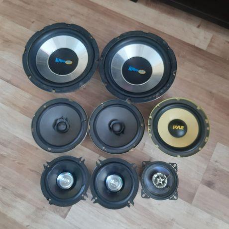 Głośniki,różne rodzaje