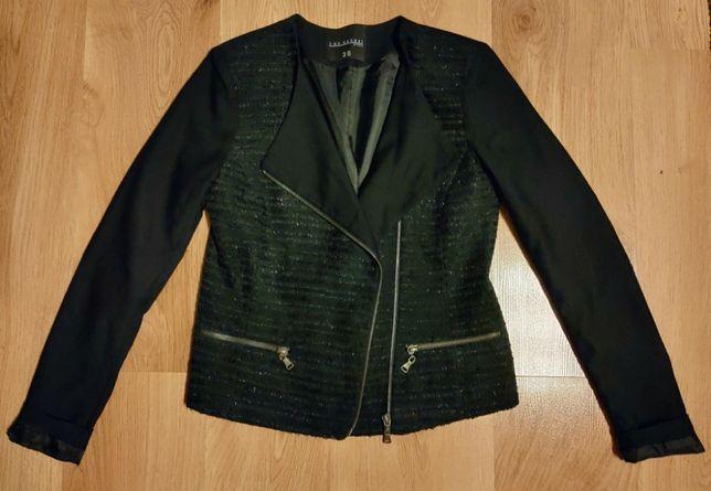 Czarna elegancka marynarka / żakiet 36/S