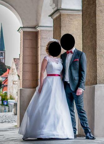 Suknia ślubna po jednym ślubie :)