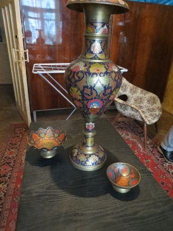 Индийская ваза с конфетницами