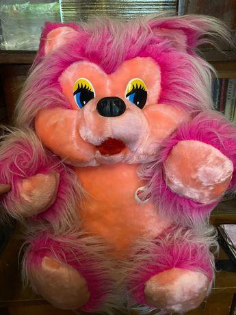 Розовый медведь мягкая игрушка