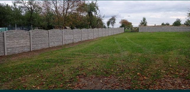 Ogrodzenia Betonowe Panelowe-100%kompleksowo Cały Śląsk. Krótkie termi