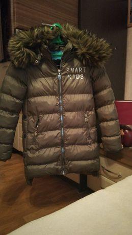 Пальто зимнее, теплое
