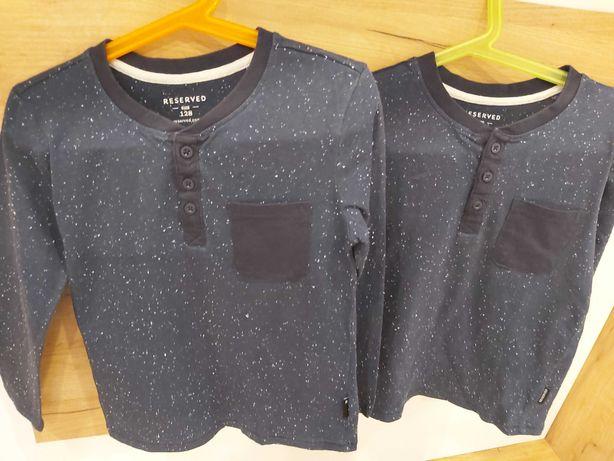Bluzeczki dla bliźniaków firmy Reserved