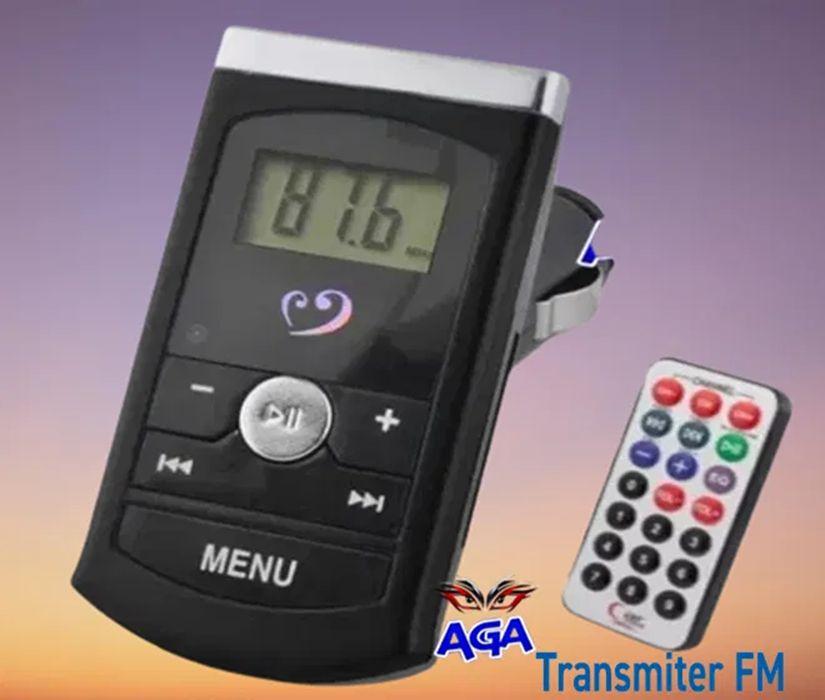 Transmiter FM Samochodowy FM MP3 USB SD Pilot