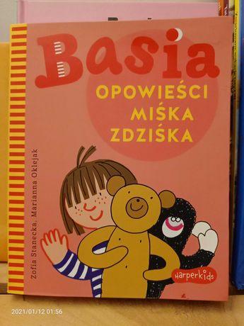 Książka Basia i opowieści Miśka Zdziśka