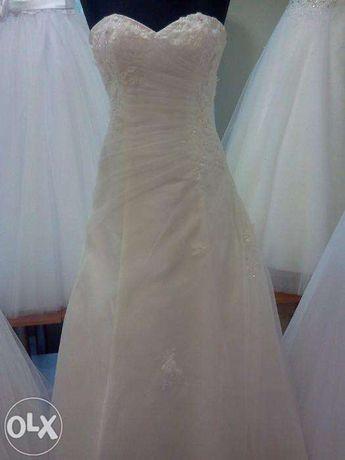 Panny Młode -piękna suknia ślubna!!!cena do negocjacji - Dęblin, W-wa