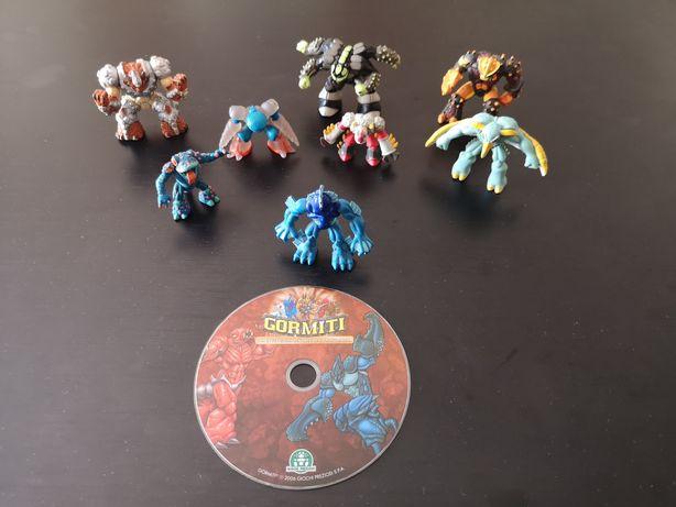 Figuras de Gormiti