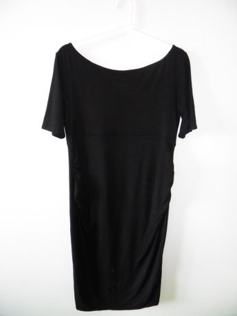 Sukienka ciążowa, czarna