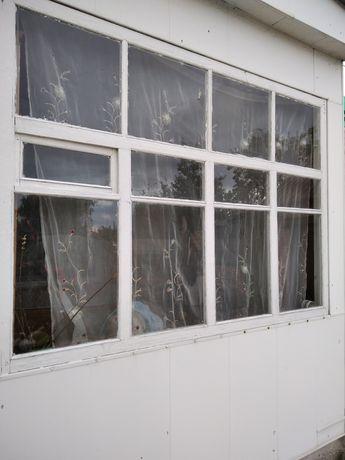Окна большие б/у