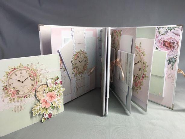 Album na zdjęcia, scrapbooking, prezent ślubny