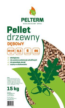 Pellet pelet dębowy DETAL Kielce Morawica Górno Mniów