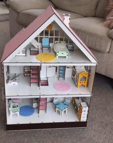 современный кукольный домик лол, Townhouse LOL / игровой набор / 3D