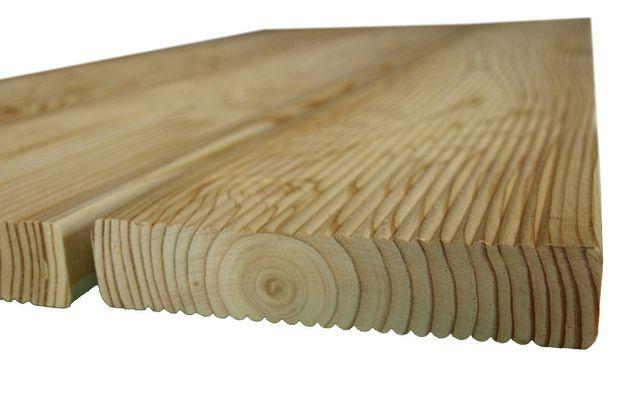 Deska tarasowa modrzewiowa ( CENA BRUTTO)