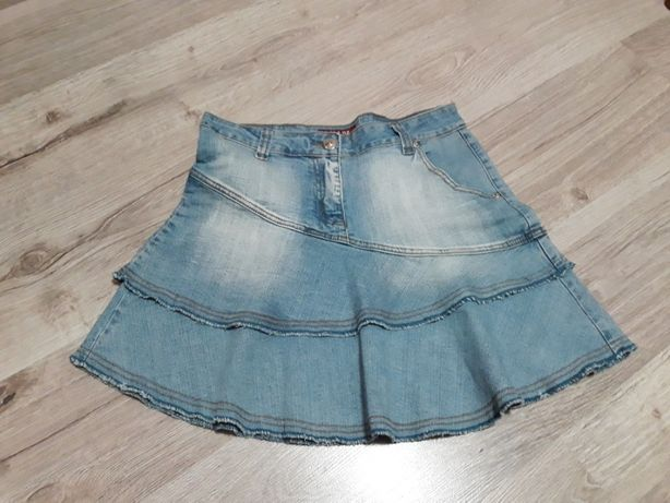 Spódniczka jeans L