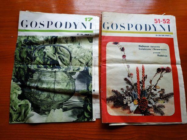 Sprzedam czasopismo Gospodyni rok 1969 stara gazeta antyk zabytek