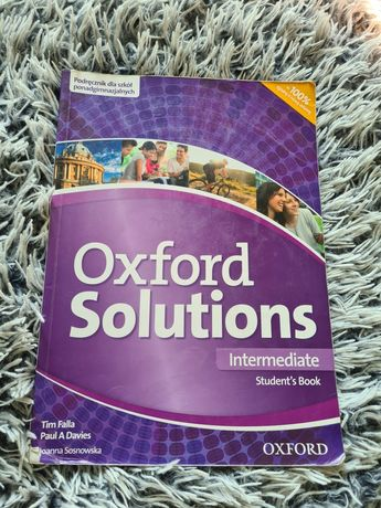 Oxford Solutions Intermediate Student's Book