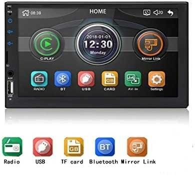 Auto rádio 2dim MP5 Bluetooth USB (( Novo ))