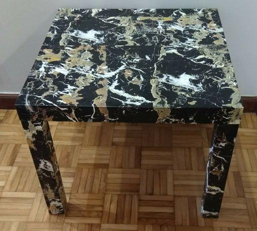 Mesa de Apoio quadrada (55 cm X 55 cm - Altura 45 cm)