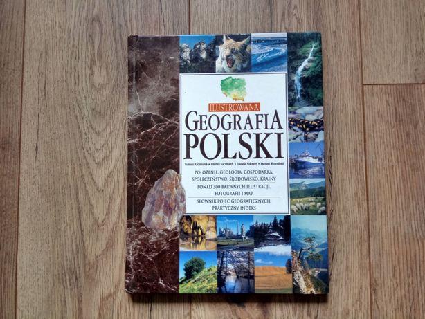 Ilustrowana geografia Polski- twarda okładka