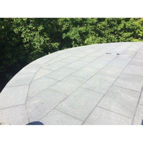 Granit Szary Taras Płytki Podłoga Podjazd Bruk Kamień 60x60 60x40