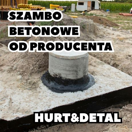 Zbiornik betonowy na deszczówkę Moja Woda Dofinansowanie ATEST SZAMBA