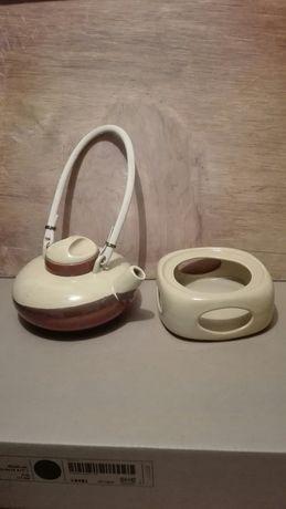 Dzbanek, zaparzacz ceramiczny kawa,herbata