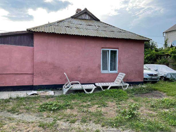 участок 15сот с домом на берегу моря в Лазурном