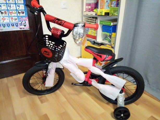 ВЕЛОСИПЕД детский Like2bike Neos красный 201405. Год выпуска: 2020