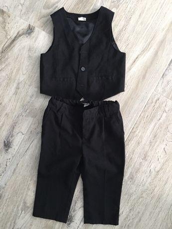 Komplet kamizelka i spodnie H&M r. 80