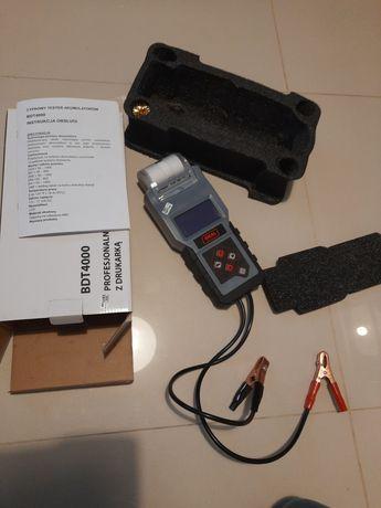 Tester Akumulatora z drukarką