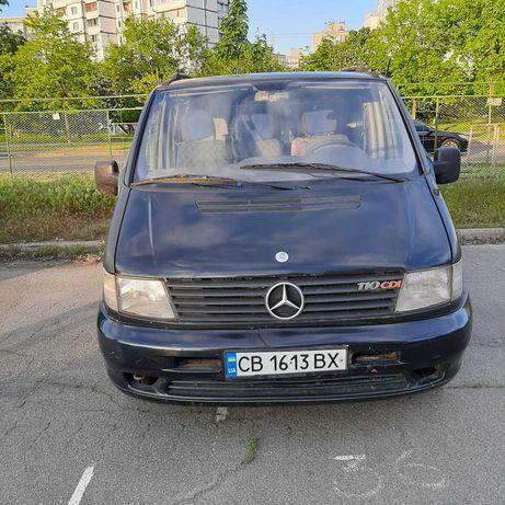Mercedes-Benz Vito 110 CDI, 2000 год.