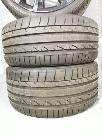 Комплект летних разношироких шин Bridgestone Potenza RE050A * Runflat