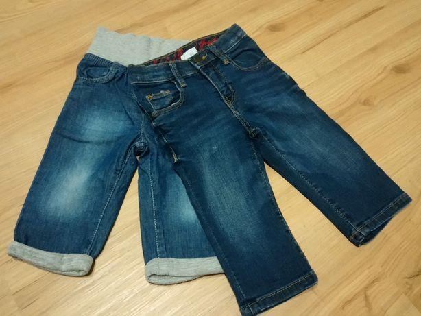 Spodnie dżins h&m Smyk r. 74