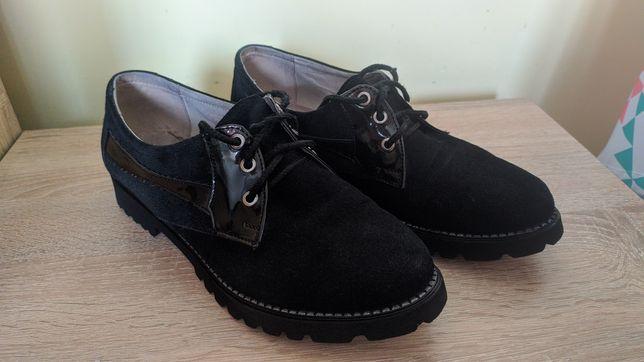 Осінні туфельки.Черевики.Сапожки.Туфельки осенние.Замшеві черевички