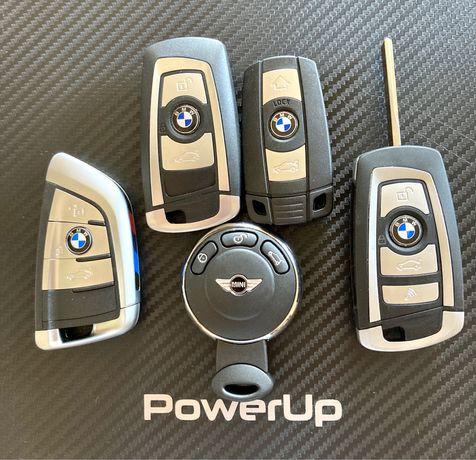 Chaves BMW e Mini + Codificação