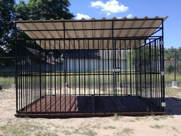 Kojec dla Psa 3x2m Stalowy Spawany Buda Kojce Budy PRODUCENT TRANSPORT