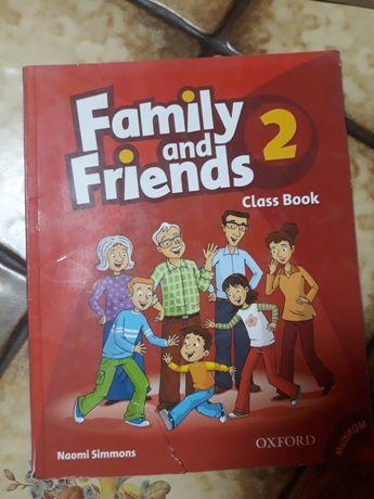 Продам книжки Family and Friends 2