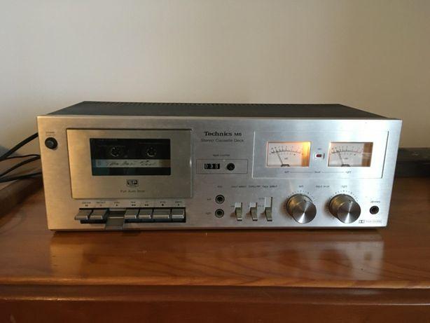 Leitor gravador de cassetes Technics