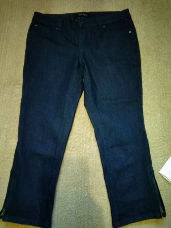 Nowe jeansy 3/4 42-44 rybaczki