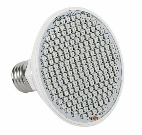 Лампа для растений светодиодная 24 ватт 200 лёд Grow Led